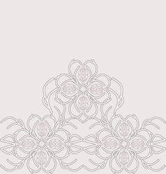 Decorative lace vector