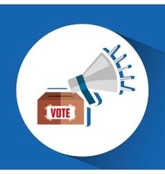 Election day design vector