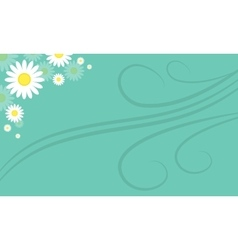 Background of spring style collection stock vector