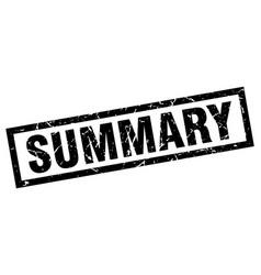 Square grunge black summary stamp vector