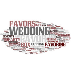 Favoring word cloud concept vector