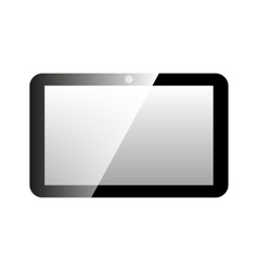 Icon tablet computer vector image