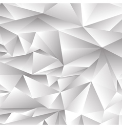 Abstract Grey Polygonal Background vector image vector image