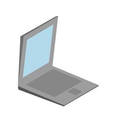 Laptop computer icon vector