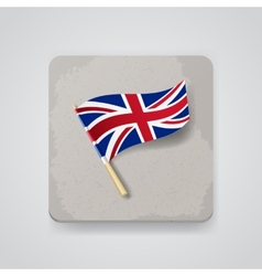 Great britain flag icon vector