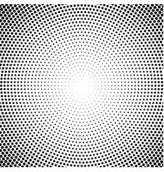 Halftone pattern background round spot shapes vector