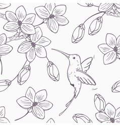 Hand drawn monochrome version of seamless pattern vector