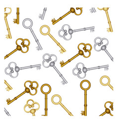 old keys icon stock vector image vector image