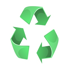 Recycles symbol graphic eps10 vector image