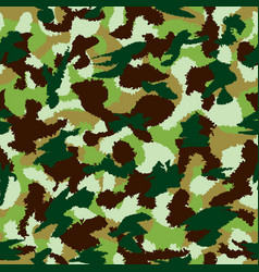 War universal nature camouflage seamless pattern vector