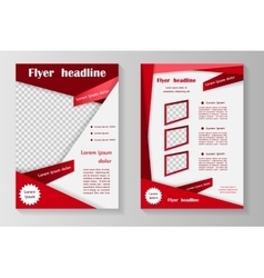 Business brochure or cover vector image vector image