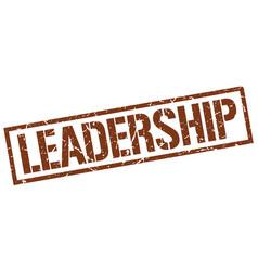 Leadership stamp vector