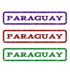 Paraguay watermark stamp vector