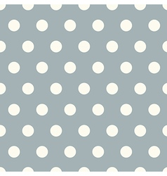 Seamless polka dot pattern background vector image vector image