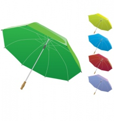 opened umbrella vector image