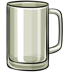 Beer glass vector image vector image
