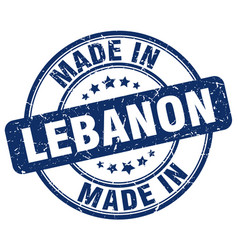 Made in lebanon vector