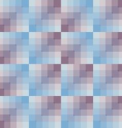 Seamless pattern geometric squares vector