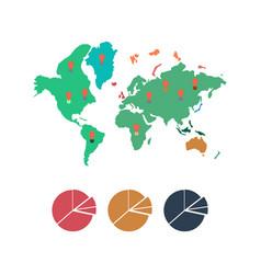 World infographic vector