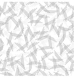 Geometric seamless pattern with endless lines vector