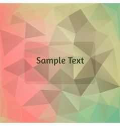 Polygon design stylized abstract background vector