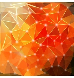 Modern geometric background with polygons crystal vector