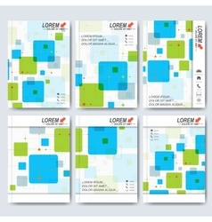 Modern templates for brochure flyer cover vector