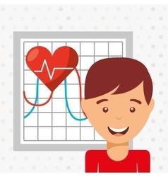 Personal health design vector