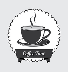 coffe design vector image