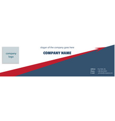cover of a company with a rising arrow vector image vector image