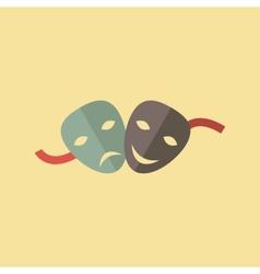 Drama icon vector