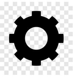 gear icon - iconic design vector image