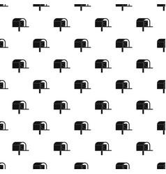 Mailbox pattern vector