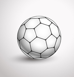 World football championship ball vector