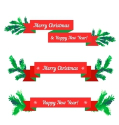 Christmas sale set vector