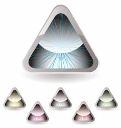 triangle iris vector image
