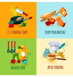 Cooking Design Concept vector image