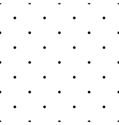 Polka dot geometric seamless pattern 2605 vector image vector image
