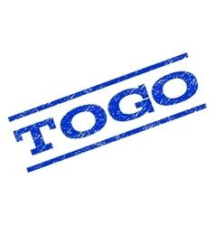 Togo watermark stamp vector