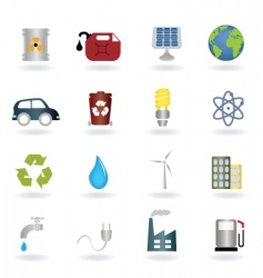 Ecofriendly icon vector