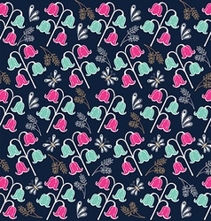 Flower pattern set 2 vector