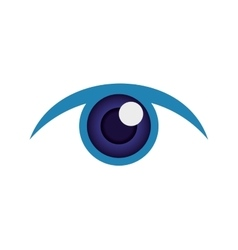 Eye icon look design graphic vector