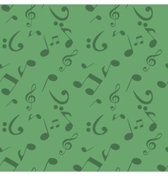 Abstract Music Seamless Pattern Background vector image vector image