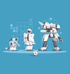 Evolution of robotics vector