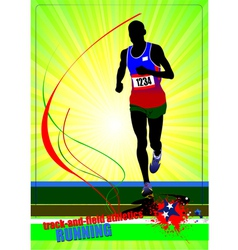al 0446 running 01 vector image