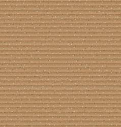 Abstract brown cardboard texture background vector image vector image
