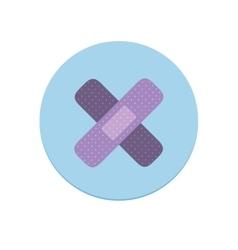 Adhesive Bandages Icon vector image