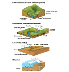 Geology vector image vector image