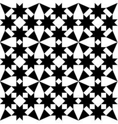 Moroccan tiles design geometric seamless pattern vector