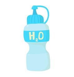 Water bottle icon cartoon style vector